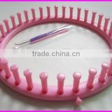 Plastic/ABS round knitting loom