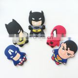 hot selling high quality the avengers alliance character soft pvc fridge magnet