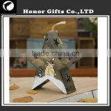 2015 Alibaba Best Selling Lovely Star Decorative Candle Holder