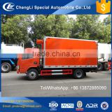 medical waste refrigerated truck, fresh fruit truck -5 degree ,freezer body truck