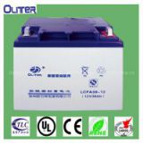Fixed valve-control type sealed lead acid battery