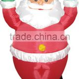 Classic design cheap air blown inflatable santa claus