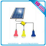 Camping Solar Lighting Lamp System with Remote Controller Mobile Charge Function