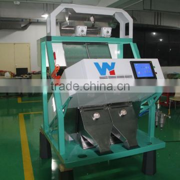 2 chutes Professional Fried Gram ccd camera color sorter machine