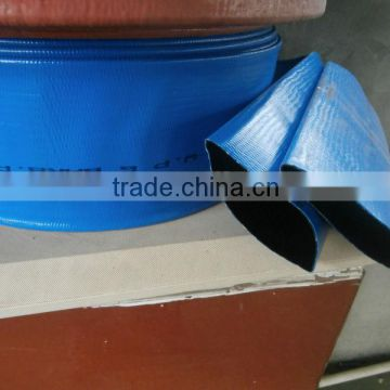 two layer pvc lay flat hose reel agriculture plastic pipe