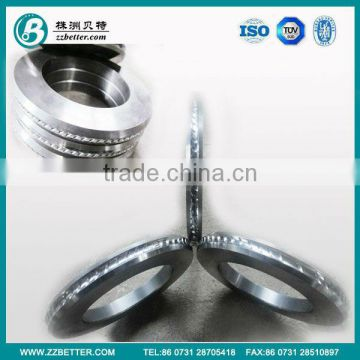 2013 best price cemented carbide blank roll rings from Hunan