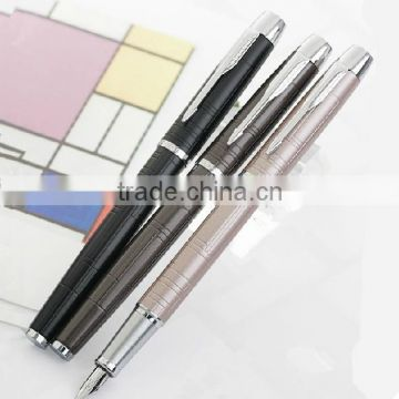 PK-10 Paker Fountain Pen IM Series Grind Arenaceous Black