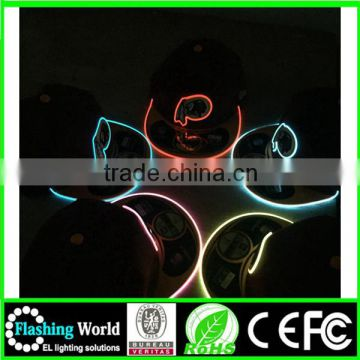 bright in colour durable modeling led light hat