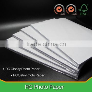 "280GSM RC Double-Sided Satin Photo Paper for HP, Canon, Epson Inkjet Printer/ 24"", 36"", 42"", Jumbo Rolls /ISO9001, ISO14001, FSC"