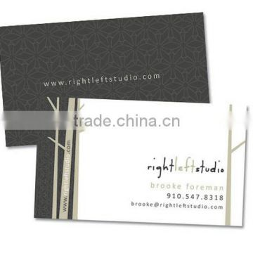 Customized Professional Debossing Business Card