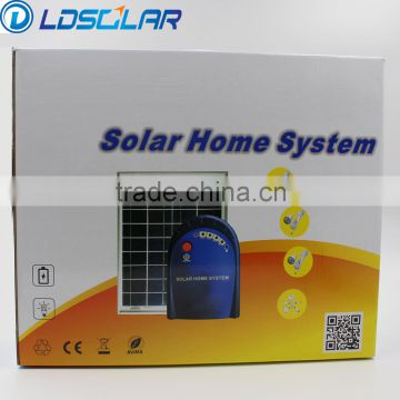 2016 hot-selling low cost solar indoor led & fan & lighting system with CE ROHS ISO9001                                                                         Quality Choice