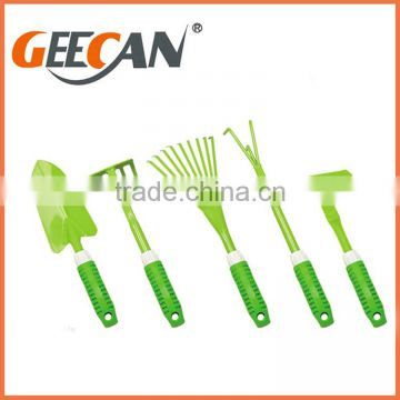 Colorful mini size garden tool set for kids chidren