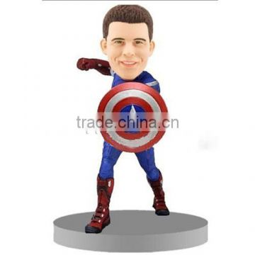 Captain america action figure cute
