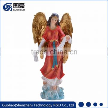 Wholesale church anniversary gift holy religious jesus manger angel statue