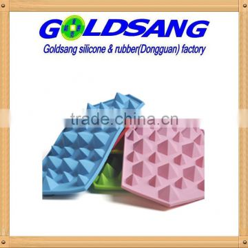 Eco-friendly creative silicone diamond ice cube tray