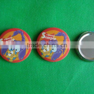 Fancy button badge