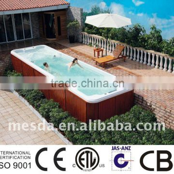 Swimming spa WS-S08B outdoor spa with CE,SAA,ISO