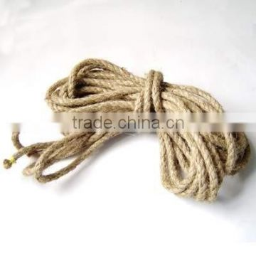 firefighter rescue training hemp rope