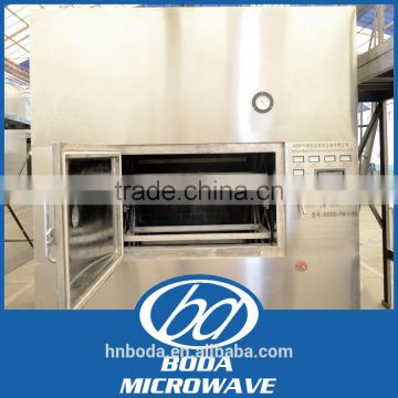Chemical powder iron oxide microwave dehydrator dryer machine