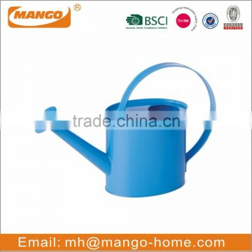 Colorful Powder Coating Galvanized Steel Garden Watering Can