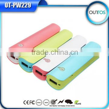 2015 New Portable Creative Christmas Gift Power Bank 2200mAh