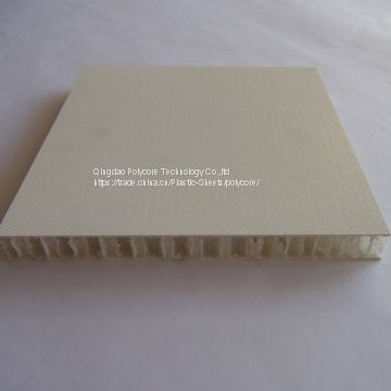 light weight waterproof honeycomb composite panel as partition