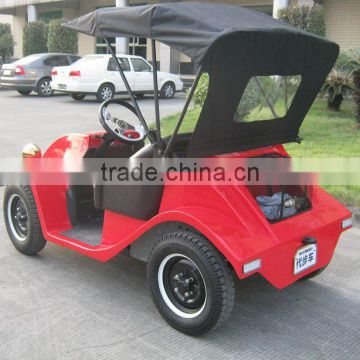 Competitive price 2 passenger small electric vehicle private golf cars