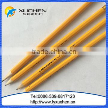 7 inches Standard wooden pencils customer's Logo Wood Pencils