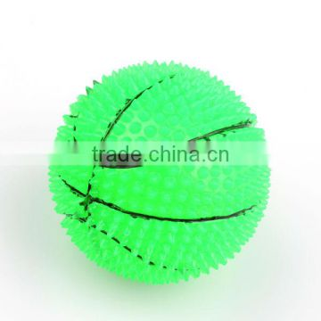Dia 60mm bounce ball with green color