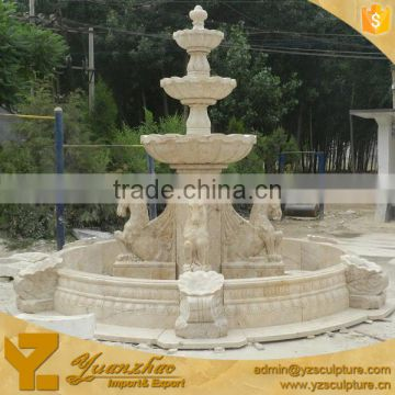 Antique Garden Lion Head Fountain for home decoration