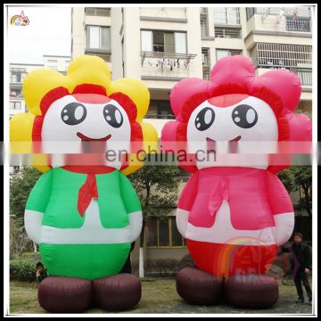 2016 New Outdoor Inflatable Mascot Advertising Customized Design Cartoon On Sale