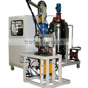 PU injection machine