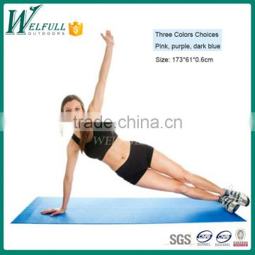 Eco friendly yoga mat roll for exercise(173*61*0.6cm)