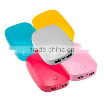 8400mAh shell shape portable power Bank