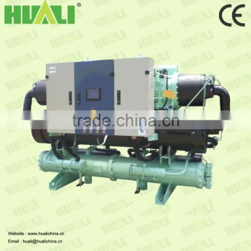 Water source heat pump unit for heating and cooling