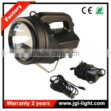 High power hand held HAL100w 12V lead acid battery rechargeable seachlight 5JG-868H-BK