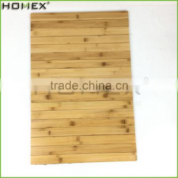 Foldable Bamboo Bath Mat Indoor & Outdoor Bath Homex-BSCI Factory