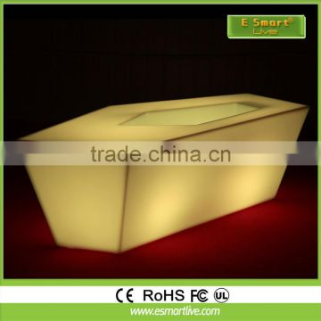 Banquet Party table/ led Event Furniture/Bar Table Specific Use and Modern Appearance led dining table