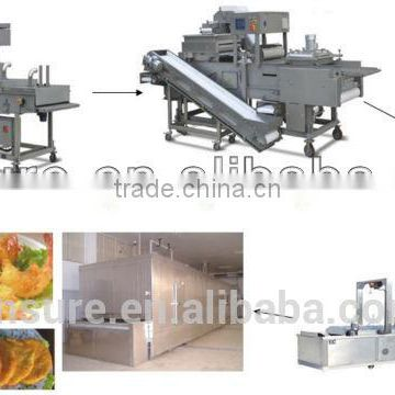 Breading Machinery Used for Coating Food