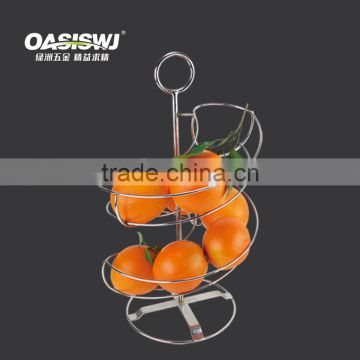 Fruit Basket----orange /apple metal rack