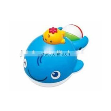 Custom whale toy, Blue whale soft toy ,rubber whale bath toy for baby
