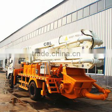 20m China cheap concrete pump truck