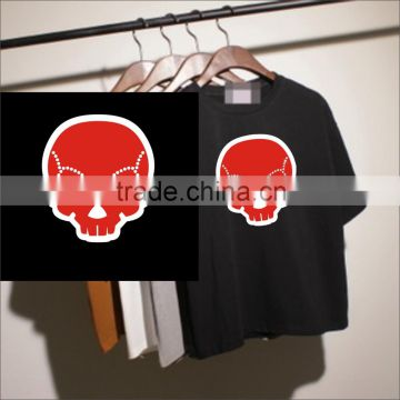 Wholesale hotfix fabric skull heat transfer                                                                                                         Supplier's Choice