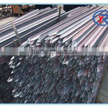hebei china produce galvanized steel y fence post,Australian y star picket