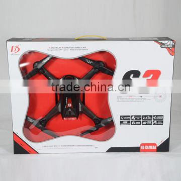 4 channel 2.4GHz wifi rc drone quadcopter with camera and gyro 0.3MP