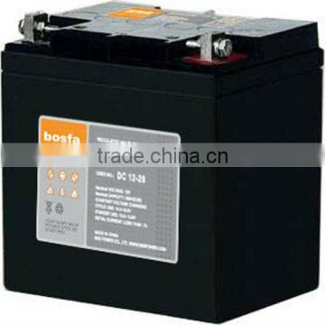 lead acid battery for ups system 12v28ah wholesale deep cycle small battery