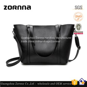 Zornna 2017 Latest models European microfiber large fashion tote mature leather shoulder women handbags