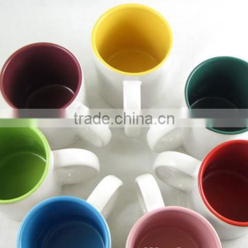 High Quality Top Grade Inner Colourful Ceramic Cups