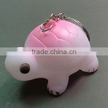 Rubber material pvc keychain,Custom turtle shaped 3d soft pvc keychain,Custom Soft PVC Keychain