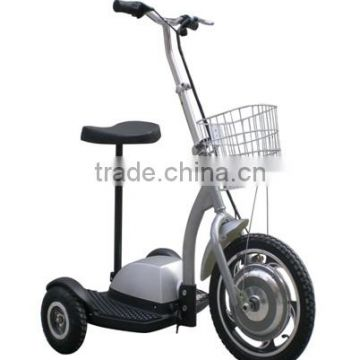 CE approved 350w three wheel electric motorcycle